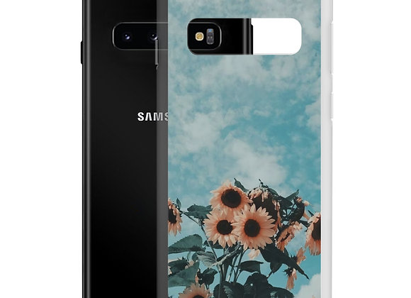 Drowsy Sunflowers Samsung Case