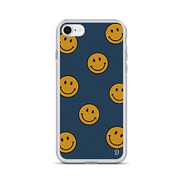 Always be happy iPhone Case