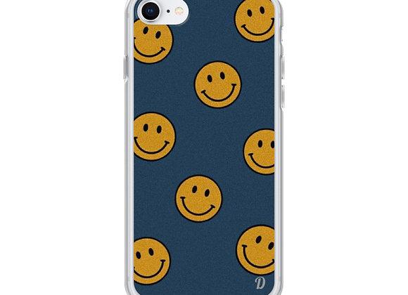 Always be happy iPhone Case