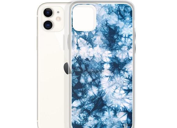Blue Tye Dye iPhone Case