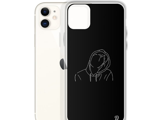 Hooded Man iPhone Case