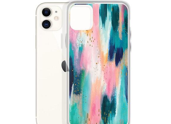 Paint Palette Smudges iPhone Case