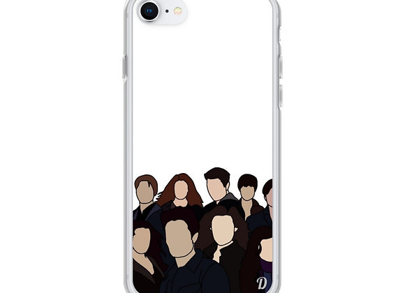 Twilight Cullen Family iPhone Case