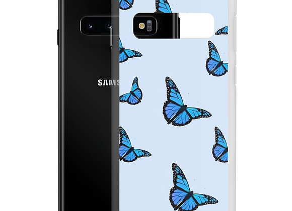 Blue Butterfly Samsung Case