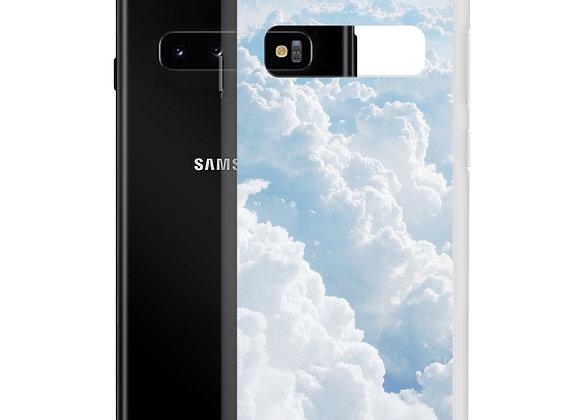 Fluffy Blue Clouds Samsung Case