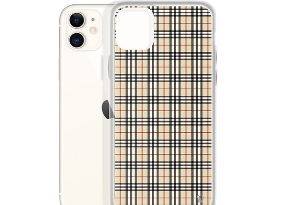 Warm Plaid iPhone Case