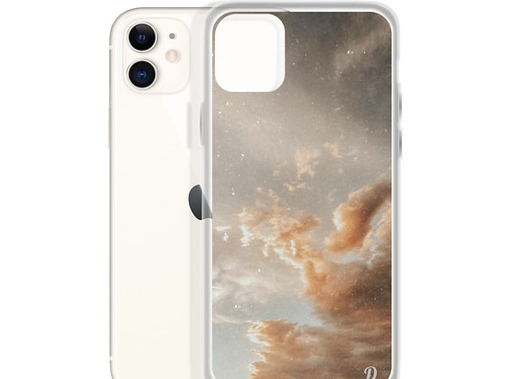 Golden Clouds iPhone Case