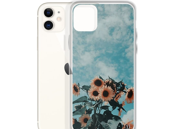 Drowsy Sunflowers iPhone Case