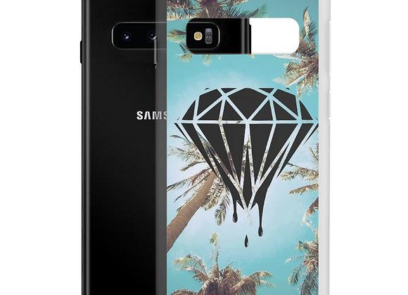 Diamond Palm Tree Samsung Case