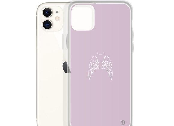 Pink Angel Devil iPhone Case