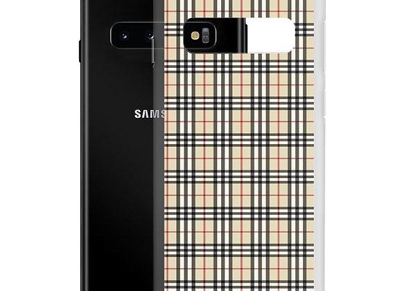 Warm Plaid Samsung Case