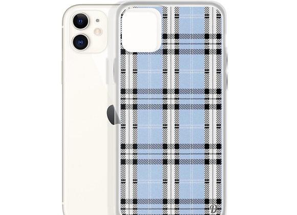 Blue Plaid iPhone Case
