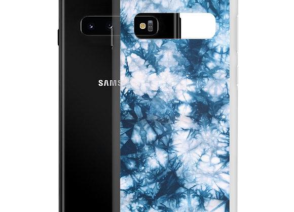 Tye Dye Blue Samsung Case