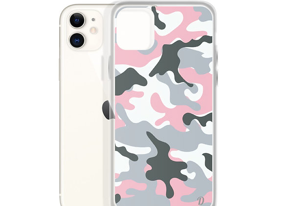 Pastel Camouflage iPhone Case