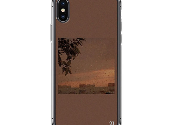 Brown City Vibes iPhone Case