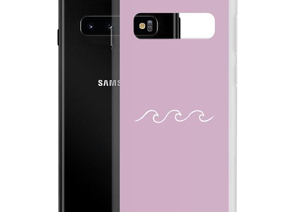 Pink Waves Samsung Case
