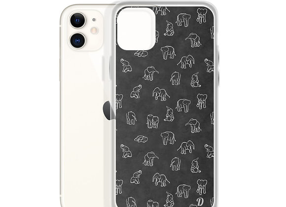 Elephants Galore iPhone Case