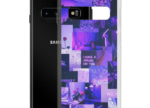 Purple Collage Samsung Case