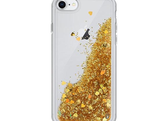 Clear Liquid Glitter Phone Case