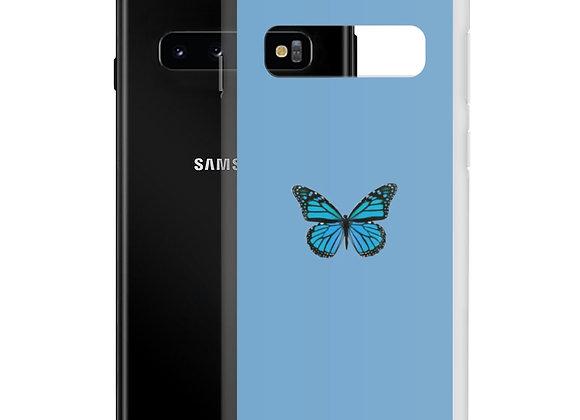 Blue Butterfly Samsung Case