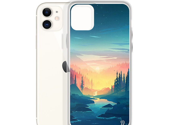 Sunset night iPhone Case