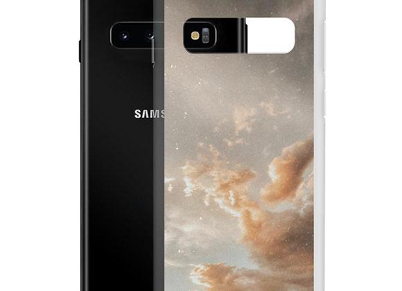 Golden Clouds Samsung Case
