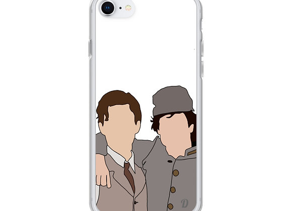 Salvatore Brothers iPhone Case