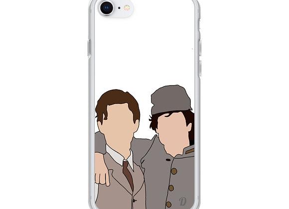 Salvatore Brothers iPhone Case