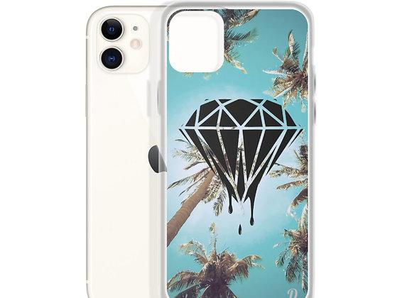 Diamond Palm Trees iPhone Case