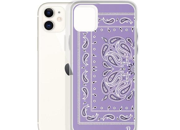 Purple Bandanna iPhone Case