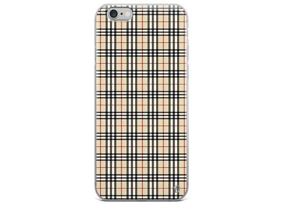 Warm Plaid iPhone Case
