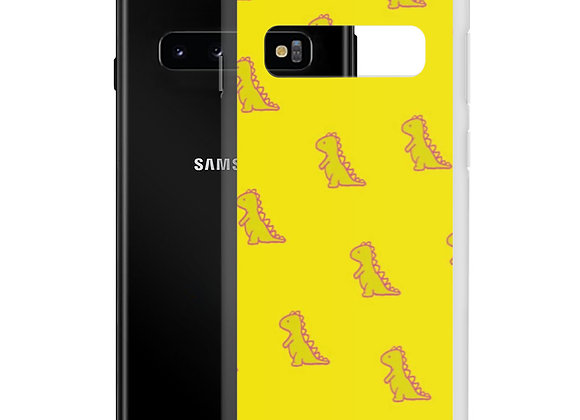 Yellow Dino Samsung Case