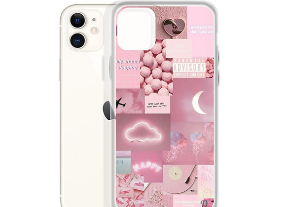 Pink Collage iPhone Case
