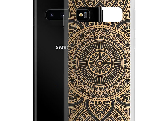 Golden Mandala Samsung Case