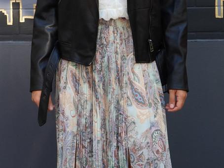 3 Outfit Ideas: Pleated Midi/Maxi Skirt