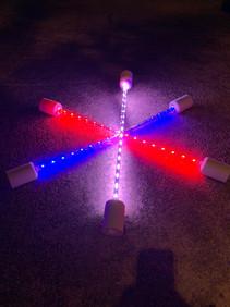Patriotic LED batons!