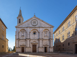 Facciata cattedrale Pienza