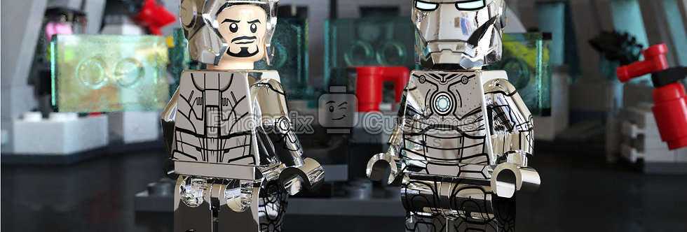 [Exclusive] Chrome Armor, Hot Rod Armor & Dum-E