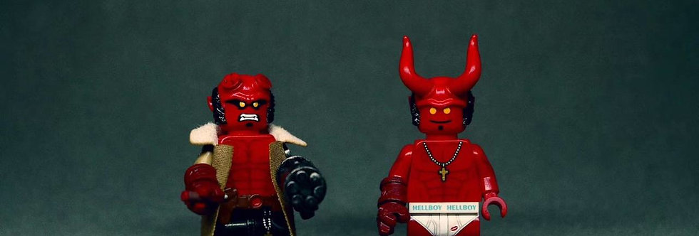 Custom Minifigures Life X FJ Hell Guy