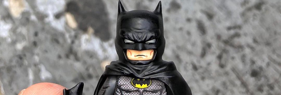 Golden Minifigs x ACE burning brick - Custom Batman