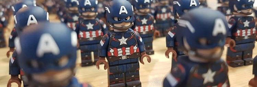 Baba - Custom Captain America
