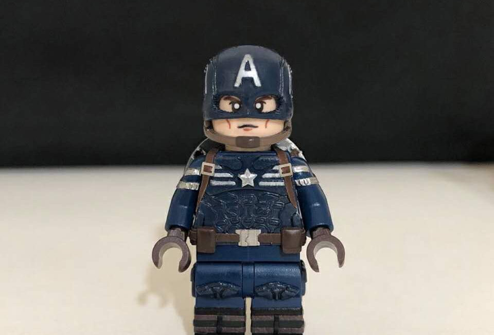 Custom Captain America