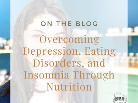 Overcoming Depression, Eating Disorders, and Insomnia Through Better Nutrition