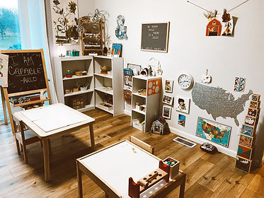 montessori inspired at home