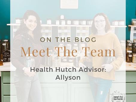 Meet Our Team | Health Hutch Advisor | Allyson