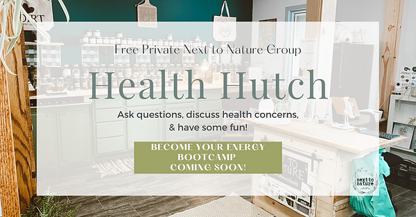 health hutch Facebook group