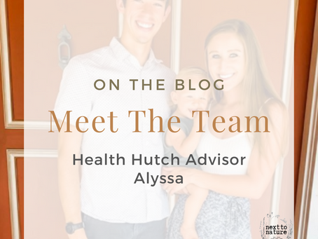 Meet Our Team | Health Hutch Advisor | Alyssa