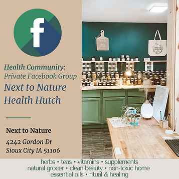 next to nature health hutch