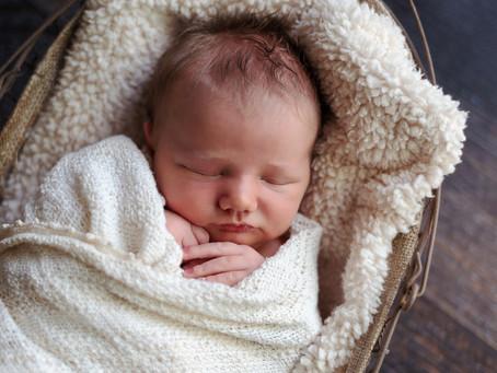 Baby Brooks | Newborn Boy | In Home Newborn Photography - Fairmont, MN
