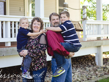 Coulter Family at Home | Welcome, MN